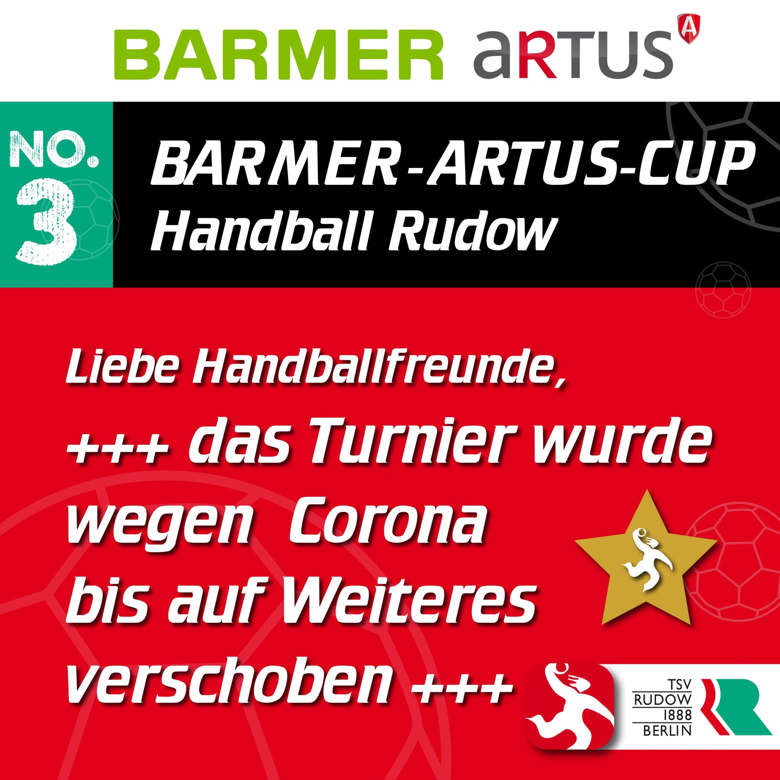 Absage Barmer-Artus Cup