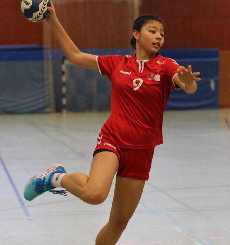 Ryleene Teodoro erneut für die Teilnahme am Lehrgang der U17 Beach-Nationalmannschaft nominiert