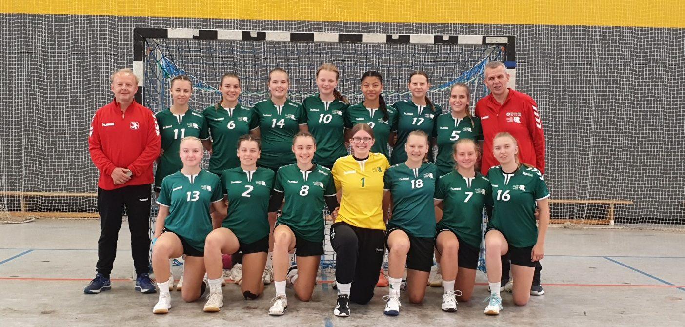 Was am Wochenende bei der weiblichen Handballjugend passierte